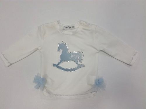 Little Lady Rocking Horse Top